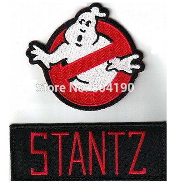 Ghost Busters Beanie No Entry For Ghost Hat Embroidered Design