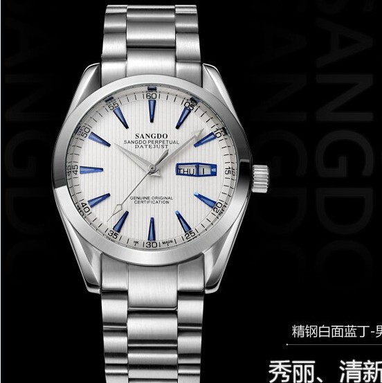 40mm Sangdo Business watch Automatic Self Wind movement 0269B High quality 2016 new fashion Men s