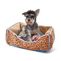 Cartoon Nest For Dog Cat Funny Pet kennel Zebra leopard Giraffe Soft Cozy Luxury Style Animal Bed High Quality 4 Sizes Cotton