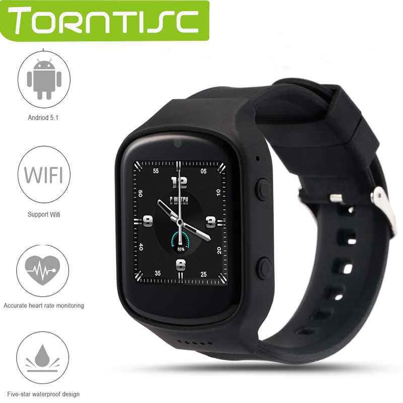 ФОТО Torntisc Newest Z80 Bluetooth Smart Watch 1.54 IPS MTK6580 Quad core 1.3GHZ Android 5.1 OS with Heart Rate monitor Camera GPS