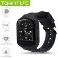 Torntisc más nuevo z80 bluetooth smart watch 1.54 ips mtk6580 quad core 1.3 GHZ Android 5.1 OS con monitor de Ritmo Cardíaco de La Cámara GPS