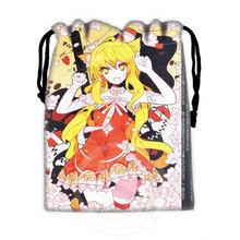 H-P806 Custom anime girl#31 drawstring bags for mobile phone tablet PC packaging Gift Bags18X22cm SQ00806#H0806