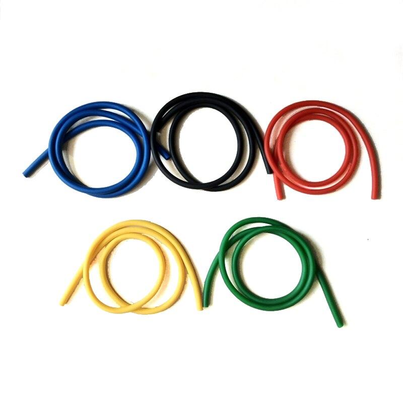 Yüksek mukavemetli 208 cm Doğal Lateks Pull Up Physio Direnç Bantları Spor CrossFit Döngü Bodybulding Yoga Egzersiz Ekipmanları