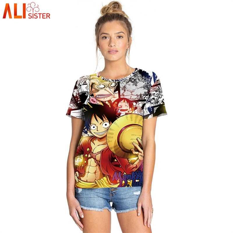 Забавные 3D футболки с принтом Луффи Наруто Драконий шар косплей футболка для мужчин и женщин Harajuku Мультфильм Аниме футболки короткий рукав плюс размер