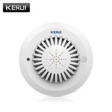 2017 KR-SD03 High Sensitivity Voice Prompts Smoke Fire Detector/Sensor linkage With Kerui Home Alarm System Low Battery Remind