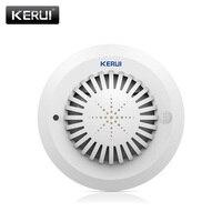 2017 KR-SD03 Hohe Empfindlichkeit Sprachansagen Rauch Brandmelder/Sensor verknüpfung Mit Kerui Home Alarm System Low Batterie Erinnern