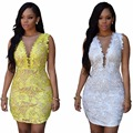 2016 female big size euro dress one-piece formal party star costumes show singer dancer performance party  style nightclub bar