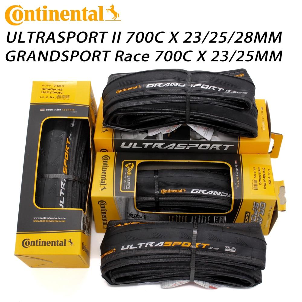 Continental ultra sport ii esporte corrida 700*23/25/28c grand prix 5000 700x23/25c pneus de estrada bicicleta pneu dobrável