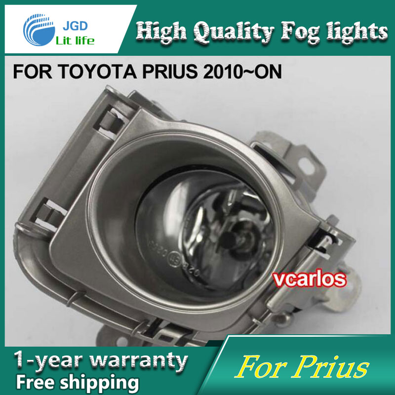 2PCS/Pair Halogen Fog Light For Toyota Prius 2010-ON High Power Halogen Fog Lamp Auto DRL Lighting Led Headlamp