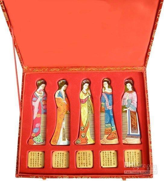 gold wood comb-g143 Classic!hot sale!Gifts with Chinese Characteristics set 5 high spun itap 143 2 редуктор давления