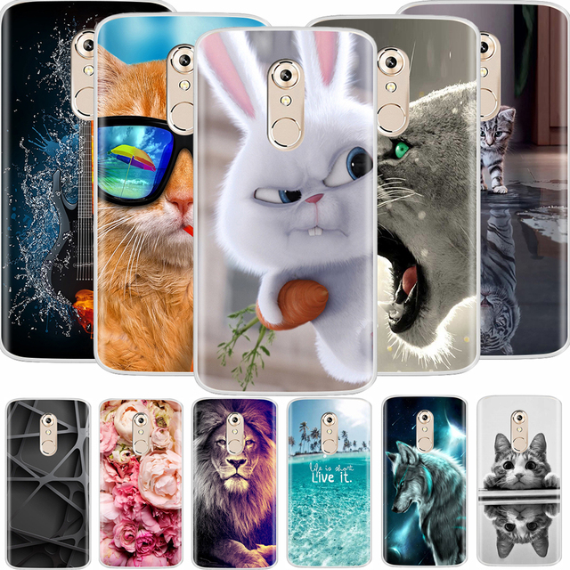 separation shoes d853a 89ef3 US $1.14 |For Zte Axon 7 Mini Case 5.2 inch Soft Silicone TPU Fashion  Painted Back Cover Phone Case For Zte Axon 7 Mini-in Fitted Cases from ...