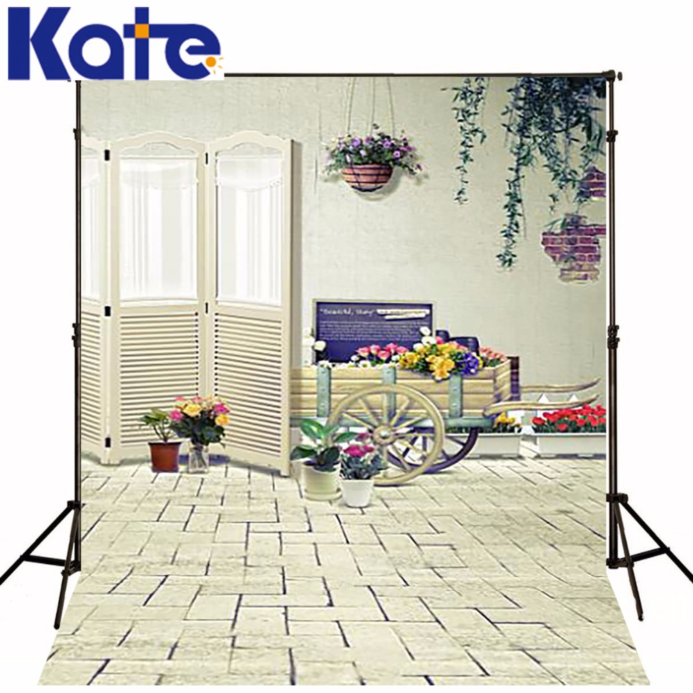 200CM*150CM backgrounds Wooden wheel wooden cart carts florist flowers diverse photography backdrops photo LK 1287 polonia шумовка нейлон fackelmann 4 996545