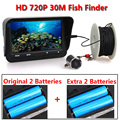 30m 720P Professional Underwater Ice Fishing Camera Night Vision Fish Finder 6 Infrared LED 4.3 inch LCD Monitor