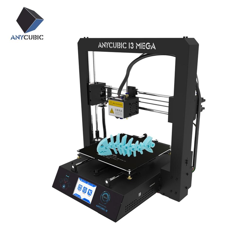 Anycubic nuevo diseño escritorio grande impresora 3d venta caliente, estructura