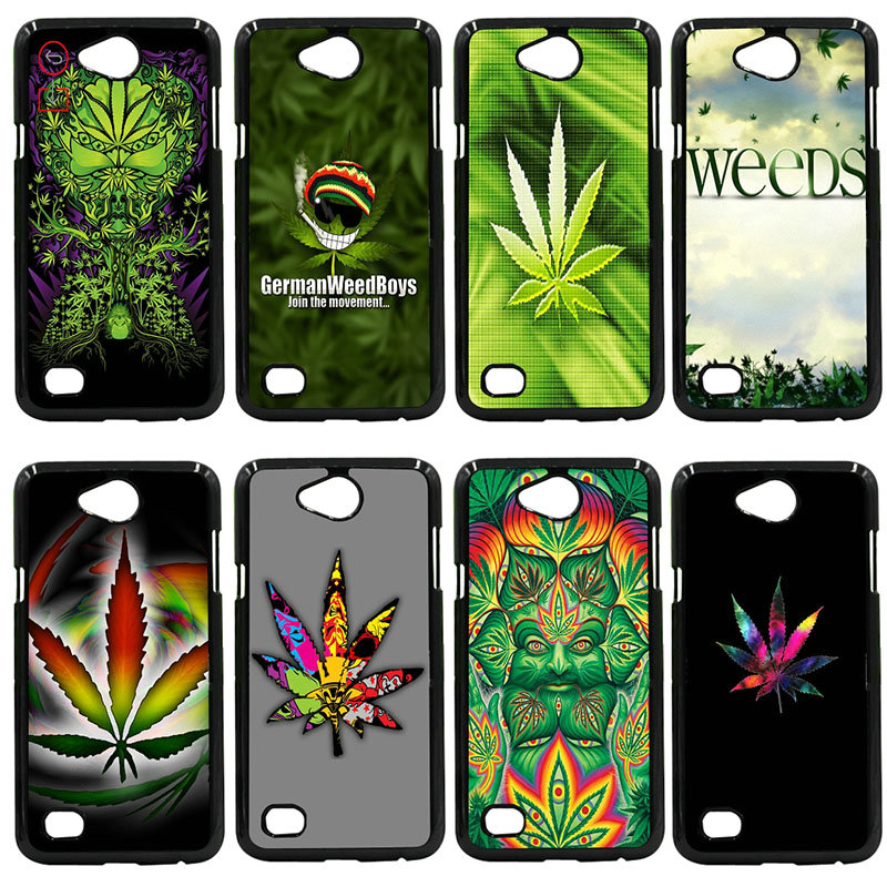 Weed Leaf Grass Guf Cell Phone Cases Hard Plastic Cover For LG L Prime G2 G4 G5 G6 G7 K4 K8 K10 V20 V30 Nexus 5 6 5X Pixel