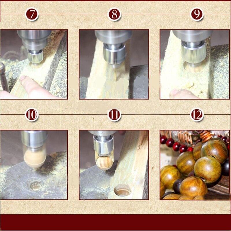 16Pcs Carbide Ball Blade Drill Bits Woodworking Molding Tools 14/15/16/18/20/22/25mm