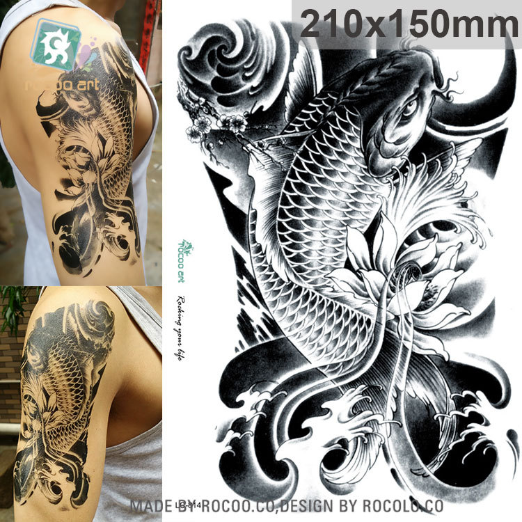 Mc729najnowsze Fajne Big Szkoła Szkielet Czaszka Tatuaż Wzory