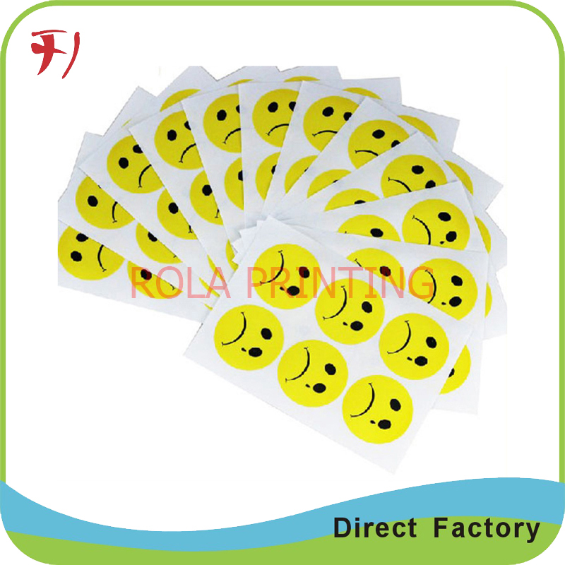 Adhesive waterproof labels and stickerscustom cosmetics label sticker printing with free sample in stationery sticker from office school supplies on