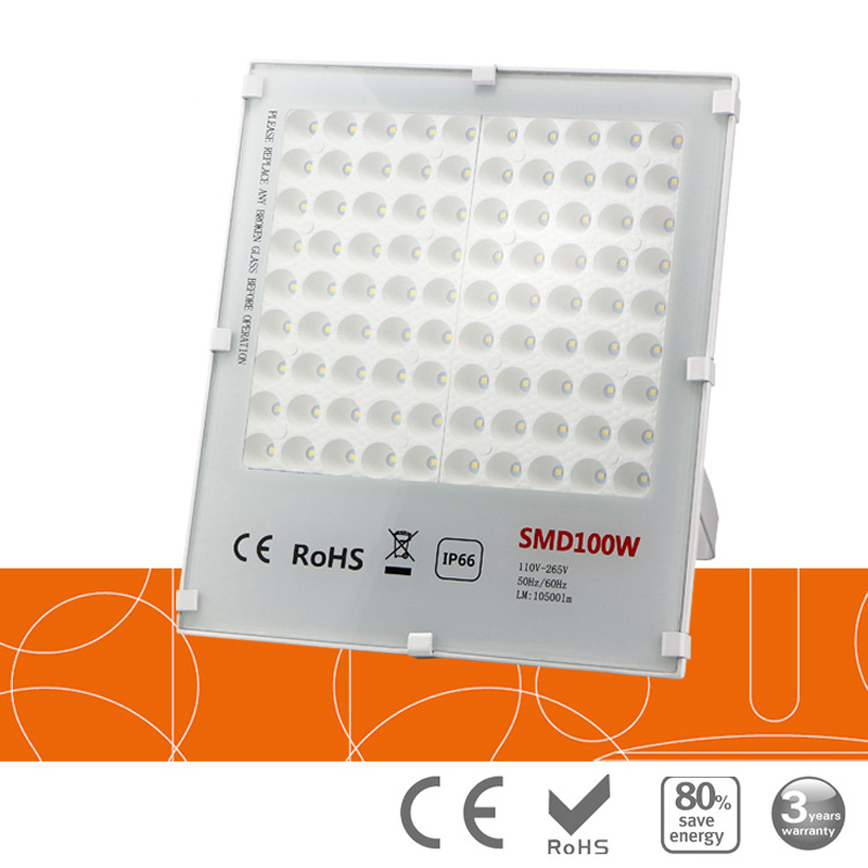 10pcs Untrathin Refletor Foco LED Exterior Flood Light 20w 30w 50W 100W 150W 220V 110V W ...