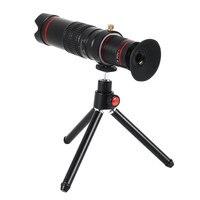 Cellphone Phone Telephoto Lens Set Universal 22x HD Phone Lens Monocular Telescope Magnifier with Storage Box