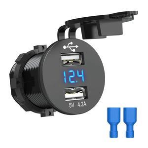 USB Car Socket 12V Car Charger