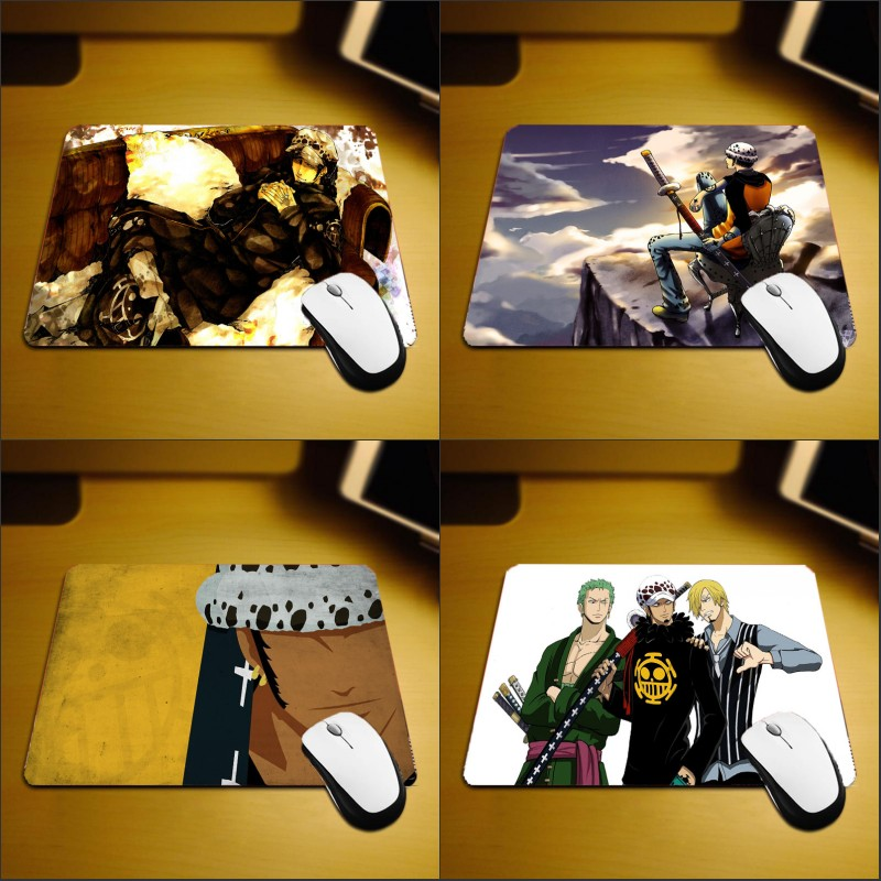 Mairuige Jump Comic Hot Anime Onepiece Mousepad Trafalgar Law Hadsome Boy Small Szie 250x200x2MM Pc Computer Notebook Table Mats