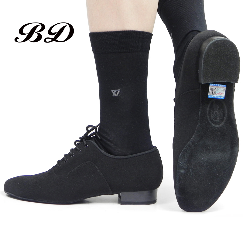 BD Latin Dance Shoes Sports SHOES Ballroom Shoe Modern Oxford Cloth Straight Sole Wearable 301 Jazz