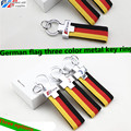 Genuine Leather Car Keychain Key Chains Rings Fob Fits for VW Car Sline / RS Logo Keyring A3 A4 A5 A6 A8 TT RS Q5 Q7