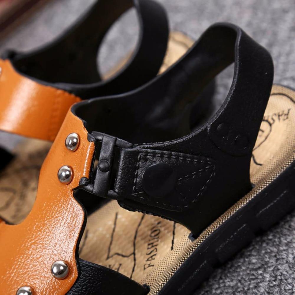 2018 Summer Beach Boy Sandals Kids Fashion Sport Sandal Children Sandals For Boys Leather Casual Shoes