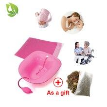 1 PC Over Toilet Remove Gynecological inflammation Prostatits Hemorroids Yoni Steam Stool Vaginal Steaming Seat Yoni Sitz Bath