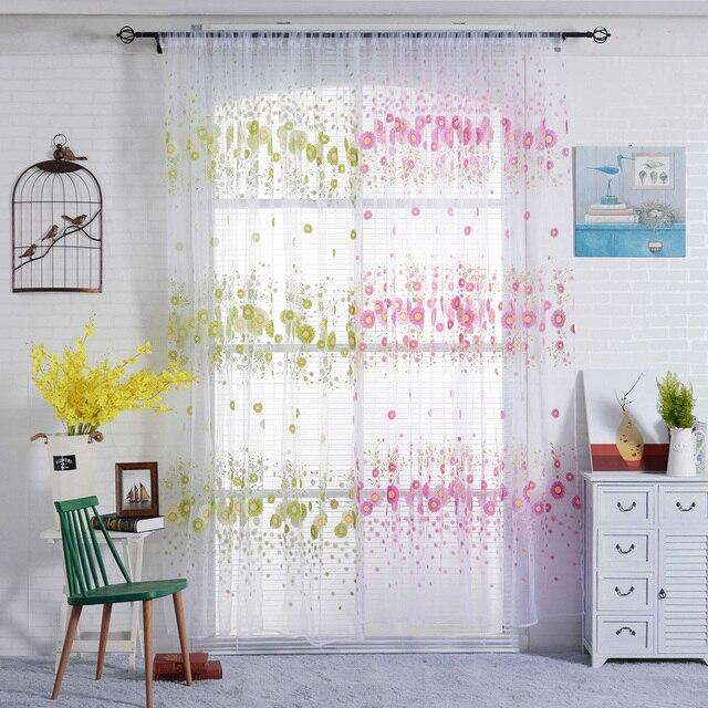 Clear Modern Curtain Balcony Bedroom Living Room Corridor Study Home Window