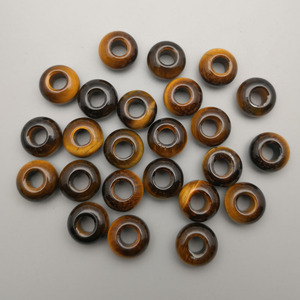 Image 2 - ファッション 36 ピース/ロット各種天然石ラウンド混合 14 × 8 ミリメートルビッグ hloe ビーズジュエリーメイキングのためにネックレスイヤリングアクセサリー
