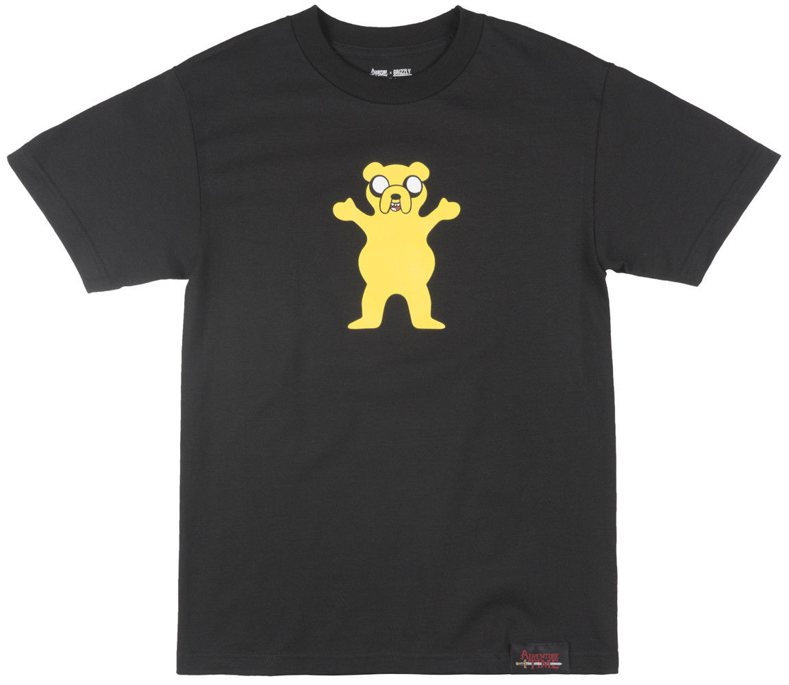 Grizzly Griptape X Adventure Time Homies Ayuda Camiseta De