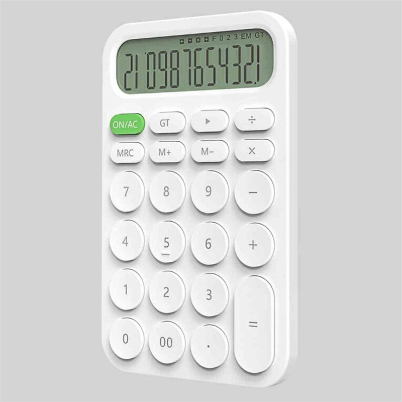 Xiaomi MIIIW 12 Digit Electronic Calculator Simple design LED Display calculation tool For Office Working Student Stationery (7)