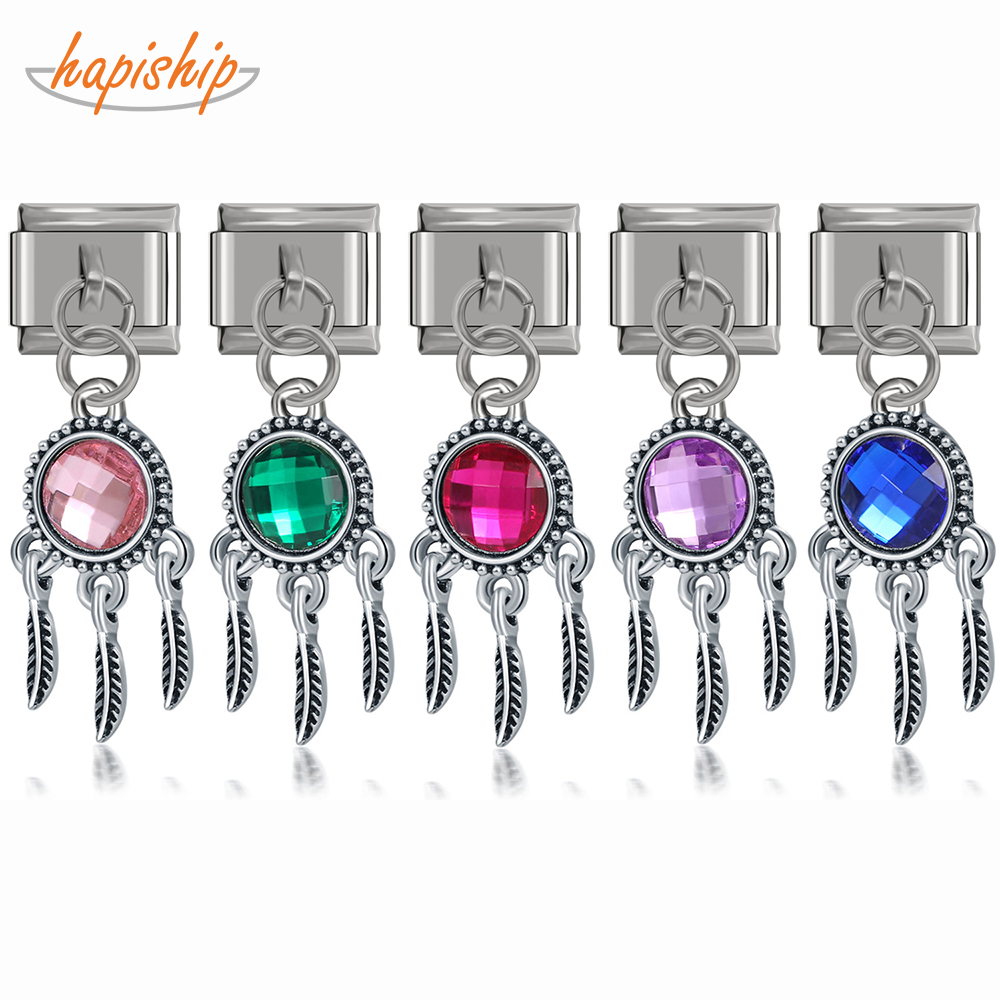 VALYRIA 30pcs Silver Stainless Steel Number 1 Charm Pendants for Fashion Bracelet Necklace Jewelry Making