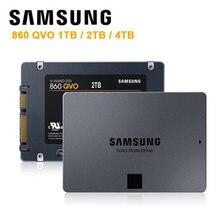 סמסונג מקורי 1TB 2TB 4TB SSD 860 QVO SATA3 6 GB/s 2.5 אינץ מצב מוצק כונן קשיח דיסק נייד שולחן עבודה דיסקו Duro 1T 2T 4T