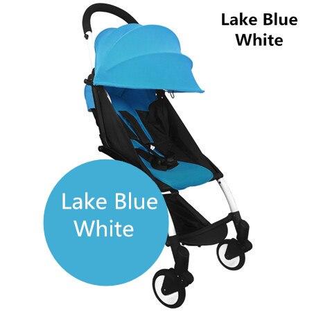 lake blue white