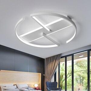 Image 4 - חדר שינה סלון LED תקרת אורות מודרני זוהר דה plafond moderne LED תקרת מנורת לילדים מחקר חדר