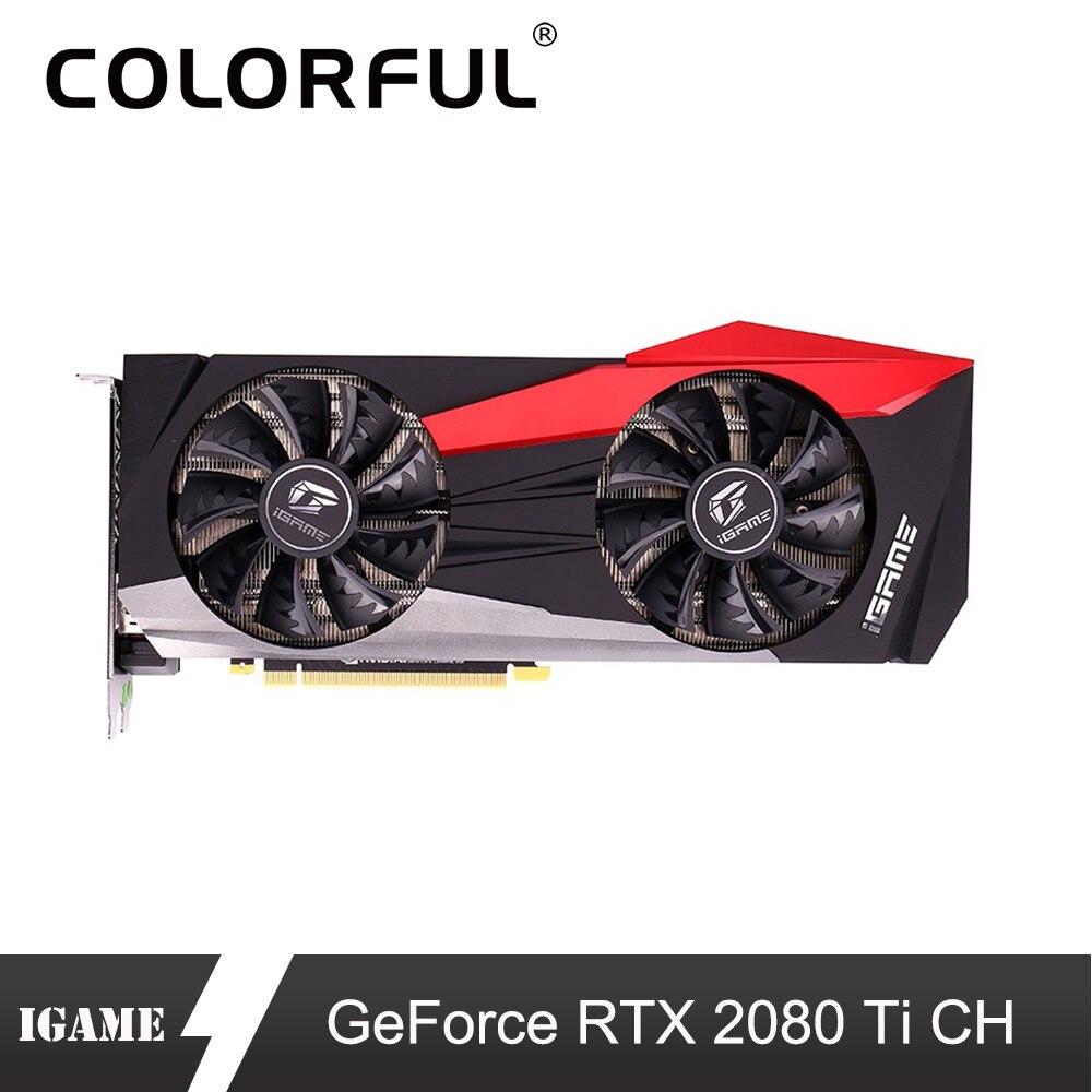 Colorful Graphic-Card GPU Nvidia Rtx 2080 Gaming GDDR6 PC Ti Geforce 11G Desktop 352-Bit