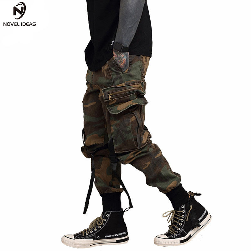 GXXH Hoodies Men New Fashion Male Hip Hop Casual Brand Hooded Camouflage Pullover Sweatshirt Men Loose
