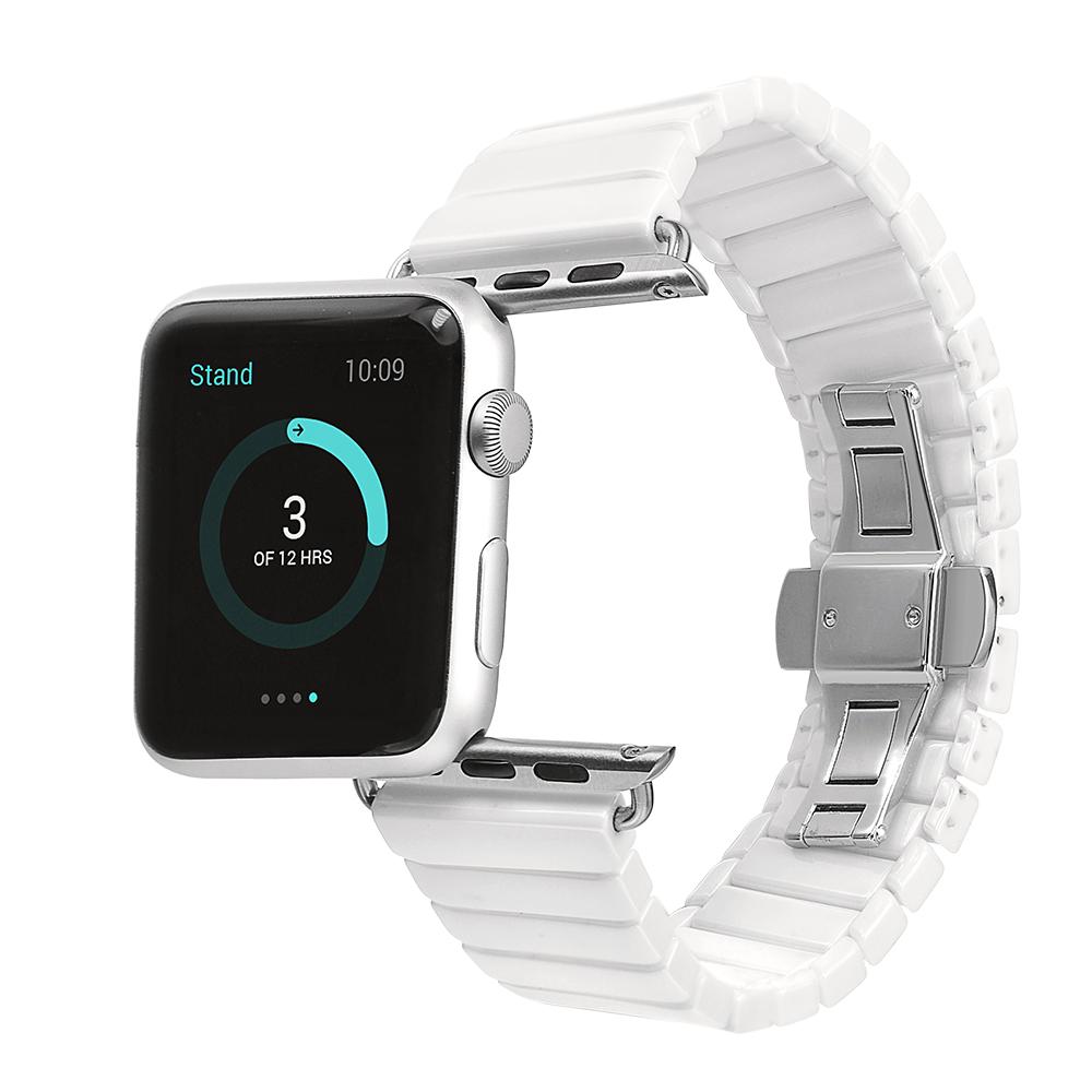 Prix pour Céramique Bracelet pour Apple Watch Smart Watch Band Bracelet Lien Bracelet En Céramique Liens Bracelet pour iWatch