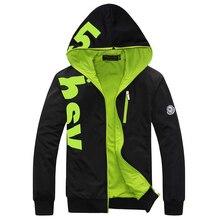 Herrenmode Sweatshirt hoodie Männlichen Mantel Plus Größe 6XL Casaco Masculino Männer Hoodies Jacken Baseball Einheitliche Sportbekleidung moletom