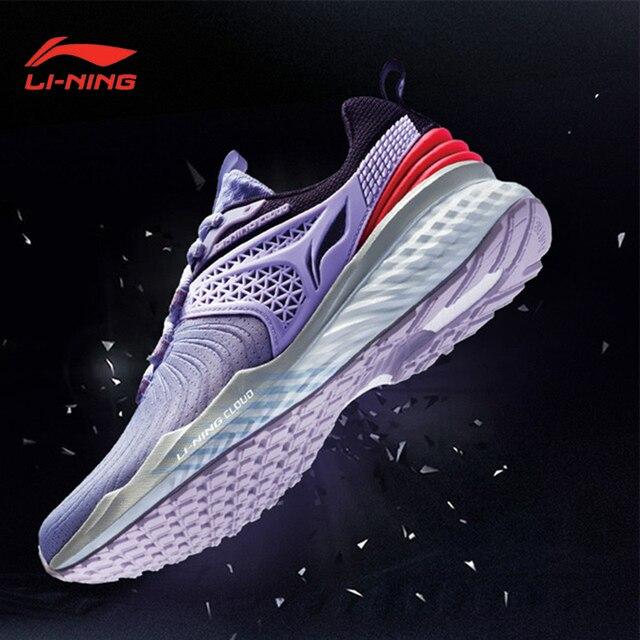 Li Ning kobiety LN CLOUD 2019 V2 poduszki buty do biegania