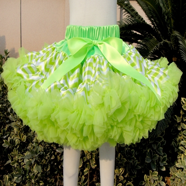 Multi-List skirt Bow-knot Girls Dance Tutu children Skirt Solid Color PETS-155
