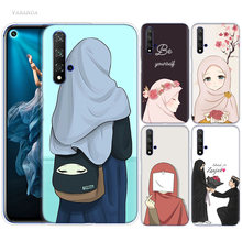 Original Hijrah Art Case for Huawei Honor 8X 8C 8 9 10 20 Play 8A lite Pro V20 Y9 Y7 Y6 Y5 Prime 2018 2019 TPU Fundas Phone Bags(China)