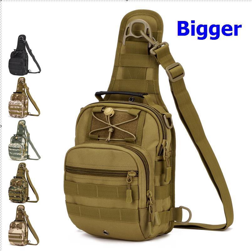 Outdoor Tactical Chest  Bag  Cycling Crossbody Bag, Men's Bags For IPAD4,5  Large Shoulder Bag  A3131