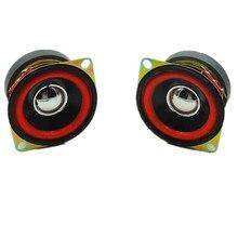 2 uds. Altavoces de Audio de bajos de 2 pulgadas, 52mm, 8 ohm, 10W, altavoz de graves