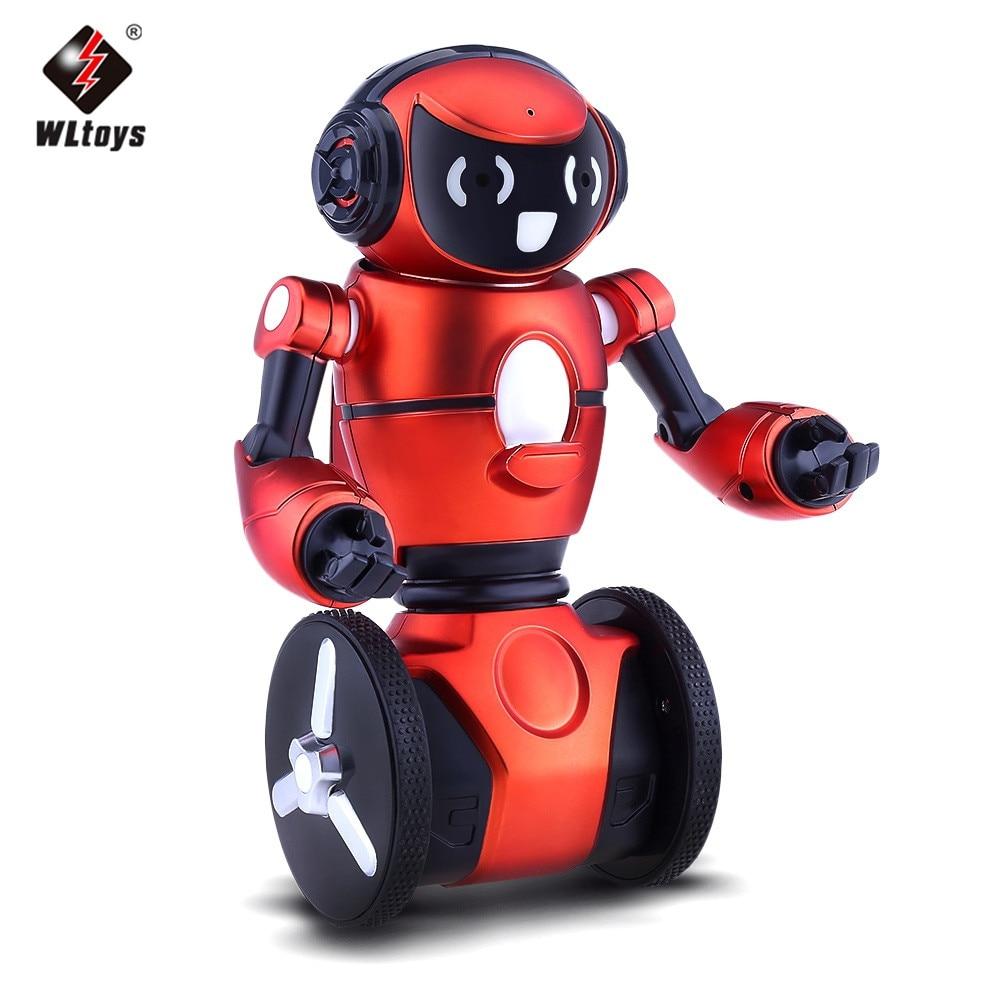 Remote Control Robot 2.4G 3-Axis Gyro Intelligent Gravity Sensor RC Smart Robot Kid Toy Perfect Balance 3D Eversion Dancing Mode intelligent wireless remote control robot dog kids dancing walking dog