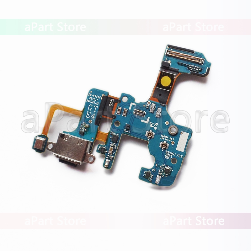 Type-c Usb Charging Port Dock Flex Cable For Samsung Galaxy Note 8 N9500 N9508 N950u N950f N950n Repair Parts Replacement