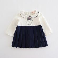 Baby Girls Style Rabbit Dresses Clothing 0-2T